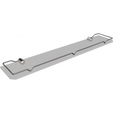 Andex CLASSIC 50/50CC półka szklana z ramką 500 mm  chrom