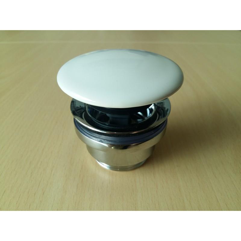 VICARIO korek klik- klak  050CL/CER ceramiczny biały