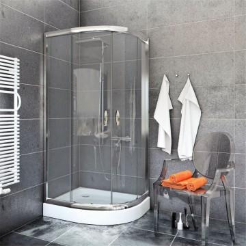 STYLIO  BK502T Kabina 90x90x190  profil chrom/szkło transparentne *WYSYŁKA GRATIS!!!