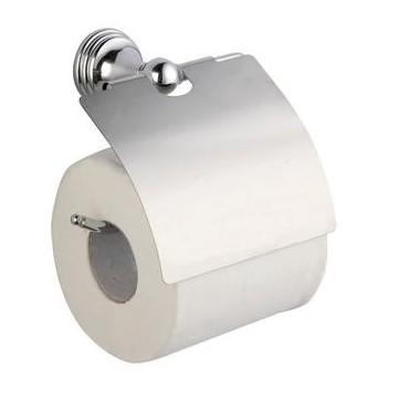 Bisk 07046 ONE Uchwyt wc z klapką  chrom