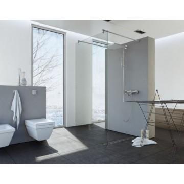 EASY IN Walk-In BK252T09 Ścianka narożna 100x200 szkło przejrzyste profil chrom
