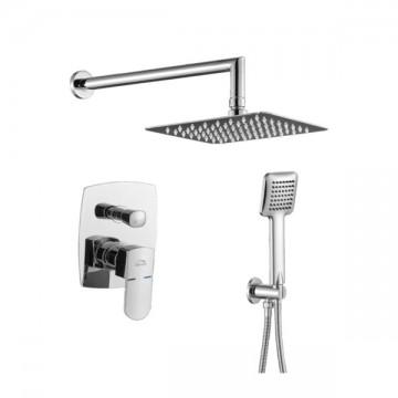LAVEO CALLA BAC_001P  Zestaw prysznicowy podtynkowy chrom