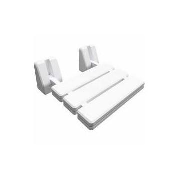 Bisk Krzesełko prysznicoweDUO PRO składane białe 07623