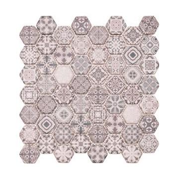 Dell' Arte Hexagon Grigio...