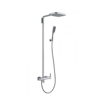 Omnires HUDSON System prysznicowy natynkowy chrom HS4144