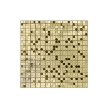 Dell' Arte GOLD FLASH Mozaika metalowa matowa-polerowana 300x300