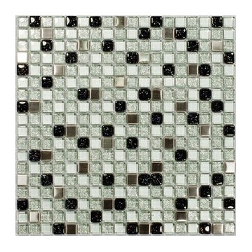 Dell' Arte SPARKLING GLASS Mozaika szklana polerowana 300x300