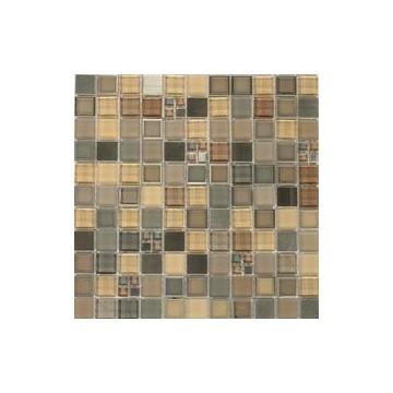 Dell' Arte FRAMES SILVER Mozaika szklana matowa 300x300