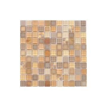 Dell' Arte FRAMES BRASS Mozaika szklana matowa 300x300