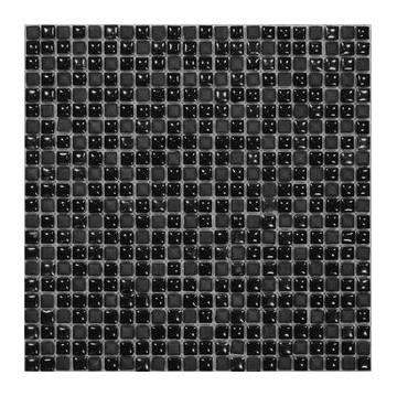 Dell' Arte BLACK VELVET Mozaika kamień/szkło polerowana-matowa 300x300