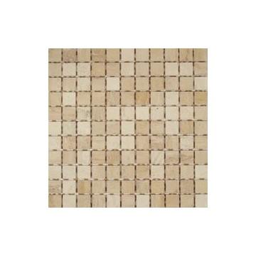 Dell' Arte BOTTICINO LAPPATO  Mozaika Trawertyn półpolerowana 300x300