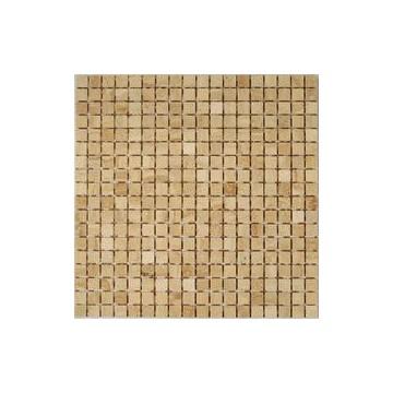 Dell' Arte BOTTICINO LAPPATO 15 Mozaika Trawertyn półpolerowana 300x300