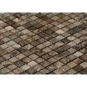 Dell' Arte MARBLE BLACK MATT 15 Mozaika matowa kamień 300x300