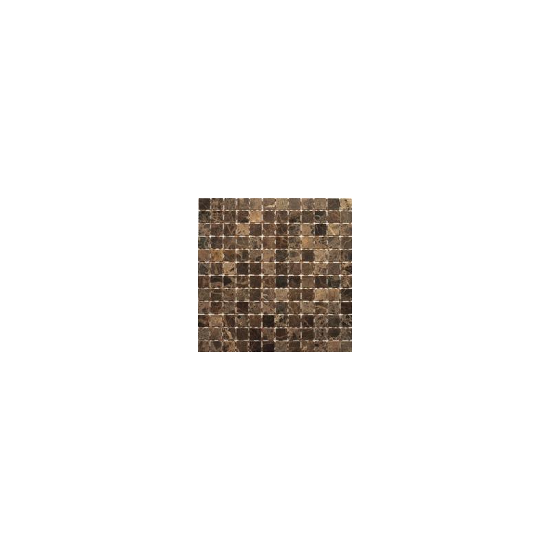 Dell' Arte MARBLE BLACK POŁYSK 23 Mozaika kamień połysk 300x300