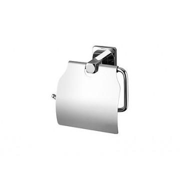 Bisk ICE Uchwyt na papier toaletowy z klapką chrom 04857
