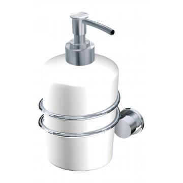 Andex SANIBELLA Dozownik do mydła w płynie chrom/tworzywo 530CC