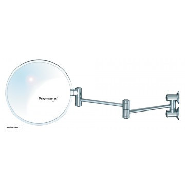 Andex CLASSIC Lustro kosmetyczne obrotowe długie chrom 066CC