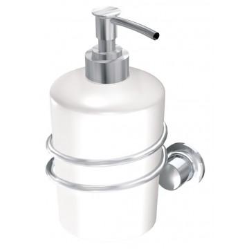 Andex CLASSIC Uchwyt z dozownikiem na mydło chrom 043CC