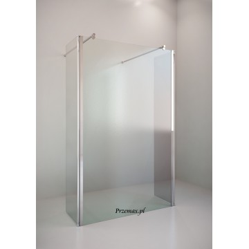 EASY IN Walk-In BK254T14 Kabina przyścienna szkło przejrzyste profil chrom