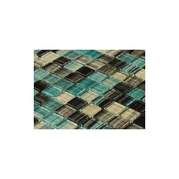 Dell' Arte COOPER BLUE Mozaika szklana poler 300x300