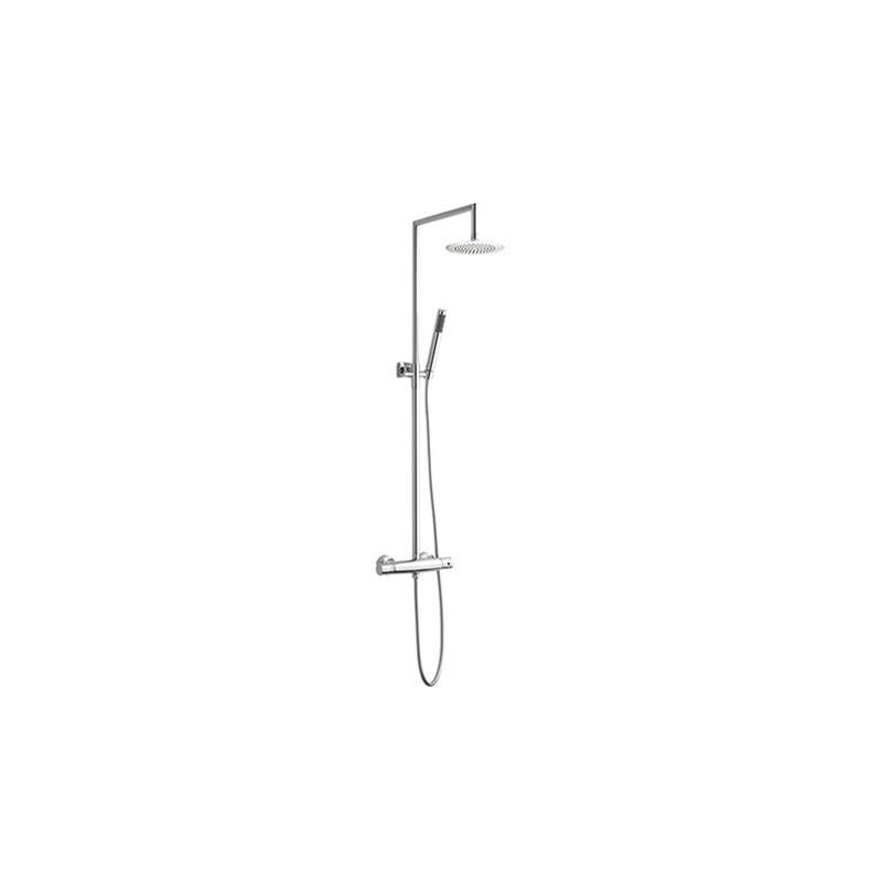 Trend Armatura Kolumna prysznicowa 15450-6673  bateria termostatyczna deszczownica 240mm ,wąż, słuchawka chrom