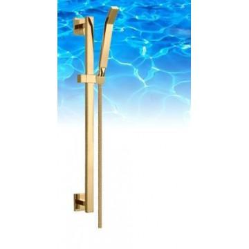 Omnires Omnires IGUACU-S Zestaw prysznicowy chrom Zestaw prysznicowy złoty