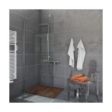 EASY IN Walk-In Ścianka narożna 120x200 szkło przejrzyste profil chrom BK251T12*WYSYŁKA GRATIS!!!