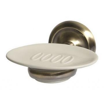 Bisk DECO Mydelniczka wisząca antyczny brąz/ceramika 00405