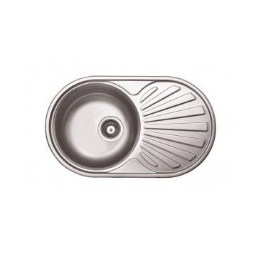 Kuchinox NORMAL SGN_081T zlewozmywak stalowy gładkie