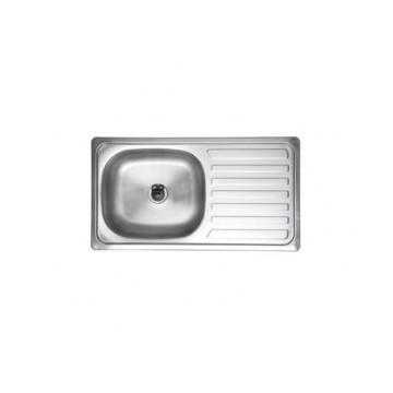 Kuchinox DRACO SKD_211T zlewozmywak stalowy szczotkowany