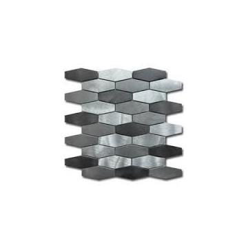 Dell' Arte HEX SILVER mozaika metalowa