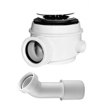 Omnires WB01X BI Syfon brodzikowo wannowo biały