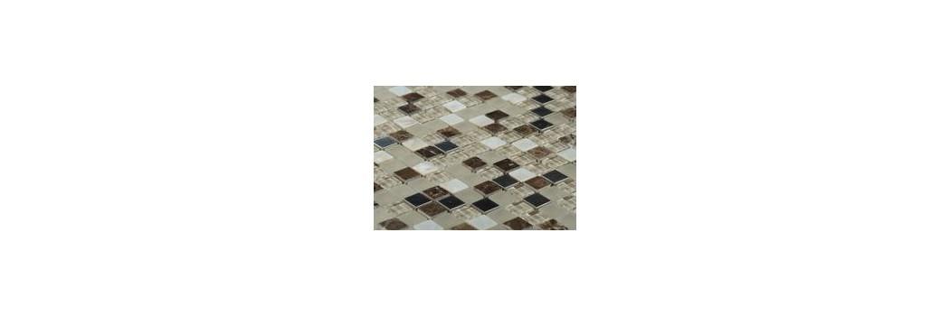 Mozaika kamień/szkło