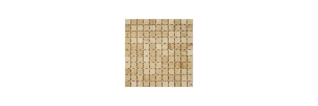 Mozaika gres, trawertyn
